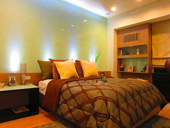 コンドミニアム 寝室の一例