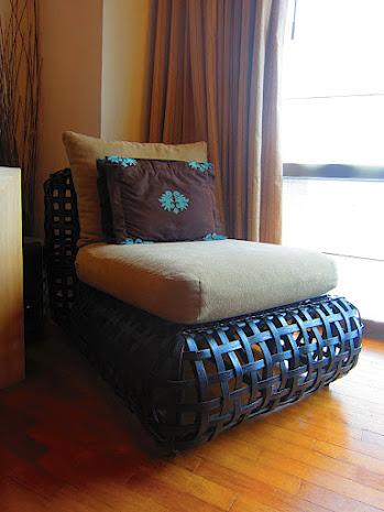 南国テイストの家具