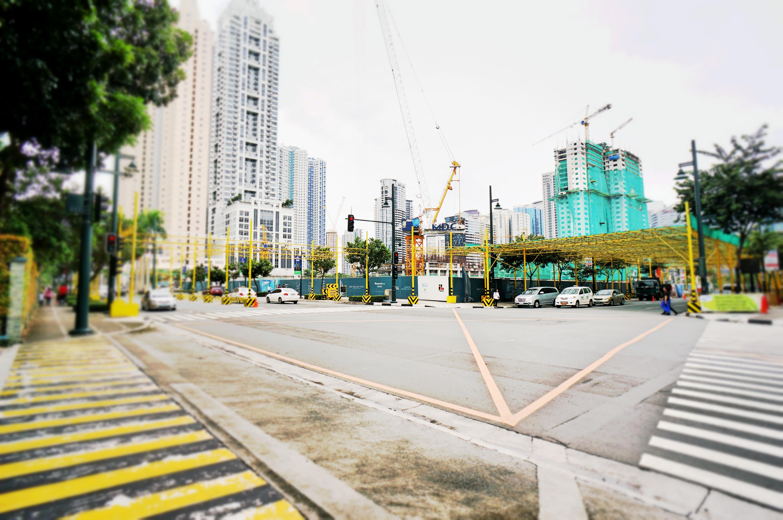 建設途中のhigh street south