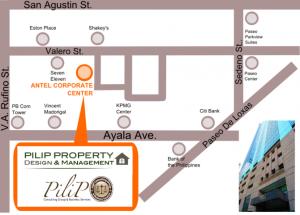 Pilip Company's map